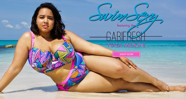 GabiFresh и Swimsuits For All