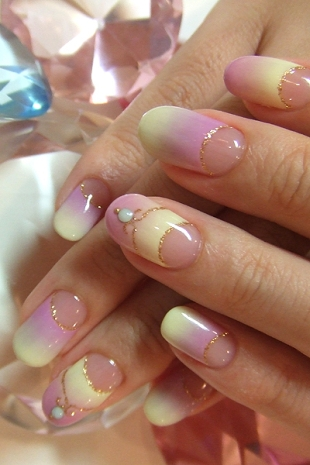 фото дизайна ногтей с плавным переходом