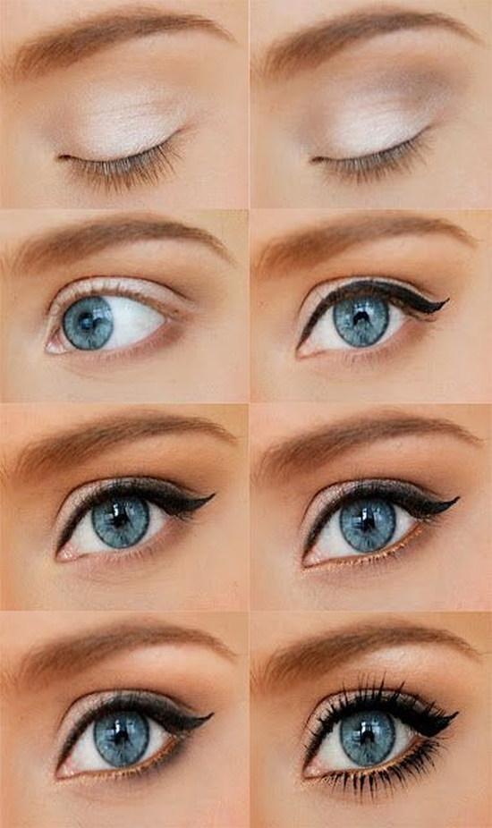 фото дымчатый макияж для карих глаз