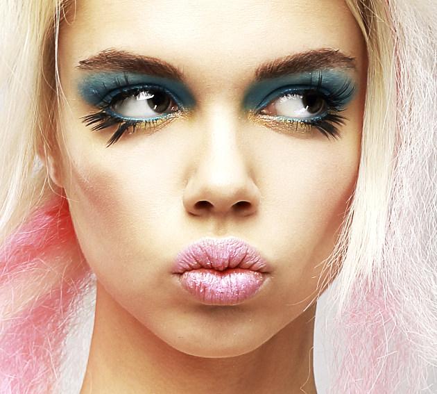 Подиумный макияж фото смелых ярких и