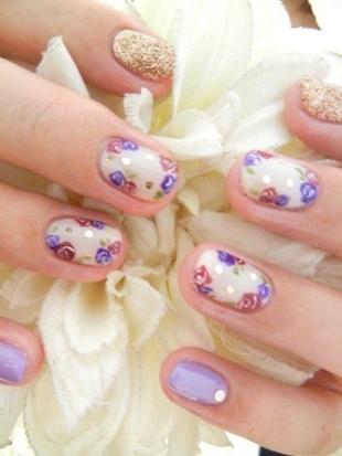 Дизайн ногтей с пастельными тонами новинки фото