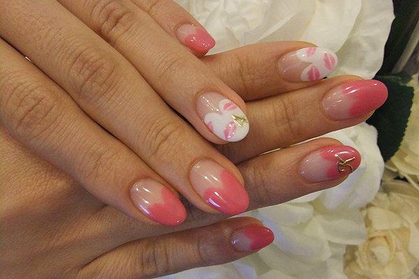 Ногти коралловые дизайн фото