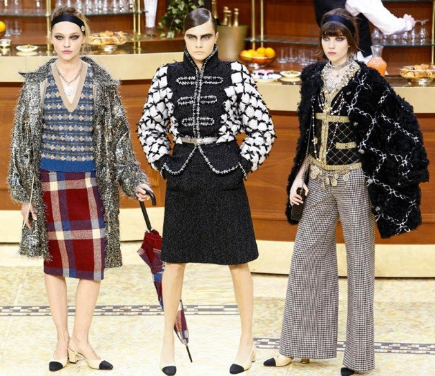 b70be0a70f7 Коллекция женской одежды Chanel  осень-зима 2015-2016 - delodom.com