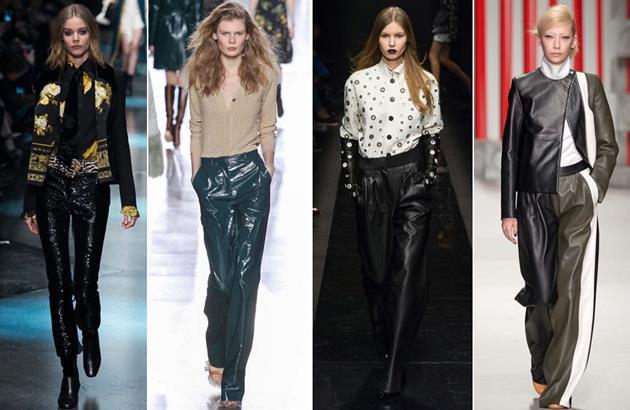 Кожаные брюки женские интернет магазин доставка
