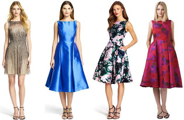 Платья 2015 года