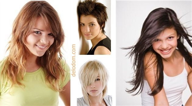 Модные стрижки для девочек подростков с длинными волосами